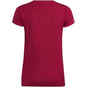 VAUDE Gleann V T-shirt Femme, crimson red